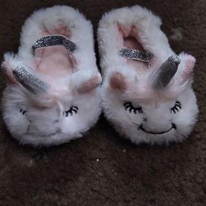 Target unicorn slip on slippers